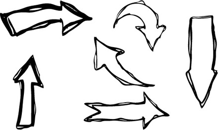 hand_drawn_arrows_creative_vector_545297